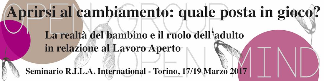 Aprirsi al cambiamento - Seminario RILA Torino